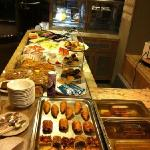  part of breakfast buffet
