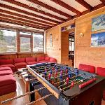games room in the bar