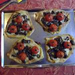  Tartelette Aubergine Tomate