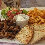 Pork Gyros and Pitta