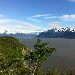 A beautiful view of the Turnagain Arm!