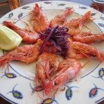 King Prawns a La Plancha