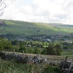 Alston from the hillside above Glencroft