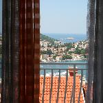  The view from our room at Danica Guesthouse, Dubrovnik