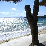 Vromolimnos our favorite beach
