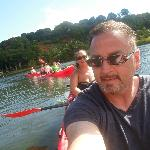 Paddling up the Hanalei River