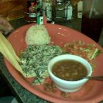 Tamales with rice and beans