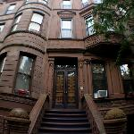  This is the front of the brownstone.