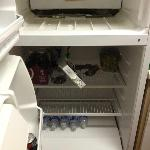  Photo of broken fridge in my room