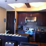  kitchen in the 1 br
