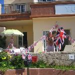 This was the apartment we were staying in we celibrated the Queens Jubilee while we were on holi