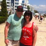  that&#39;s us in sunny beach