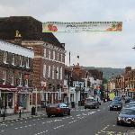 A view of Dorking High Street