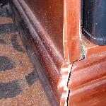 Damaged furniture