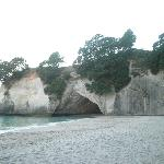 Cathedral Cove - just a walk away fr the B&B