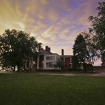 Stormy evening at The Ludlow Mansion