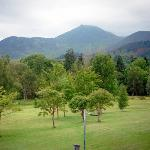"""View from our bedroom """"The Causey Pike"""" room"""