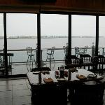 A range of dining options offers good food, range of pricing and great views.