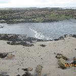  The beach near Haven House, Beadnell, Northumberland, England