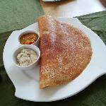 masala dosa for breakfast