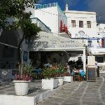 Antonini Taverna at Manto Square in Mykonos Town