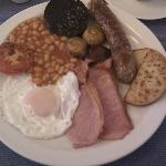 Aardvarks AWESOME breakfast, more than enough to keep you going!