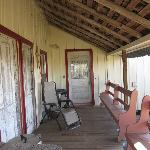  Back Porch - door to kitchen on the left