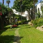  jardines del hotel