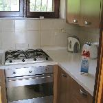  Kitchen area, Panoramico apartment - small but well equipped