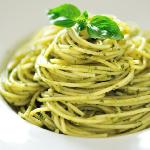 Spaghetti Pesto Small