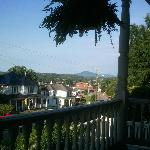  View of Rocky Mount from porch