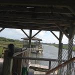  View from the Pelican&#39;s crabbing dock