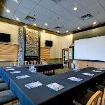 Our updated meeting/banquet room!