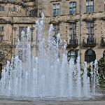 Fountains in the Peace Gardens