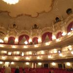 Inside Komische Oper - nothing to do with hotel!
