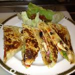 chicken quesadilla ( lunch)