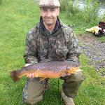  9lb Brown Trout - Fishing Trip Organised by Nic at Hotel!