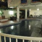 Indoor Pool with Lounge Suites