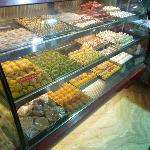 Dessert counter at Rawat Kachori