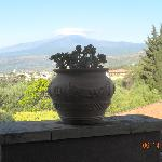  Mt.Etna: view from the balcony
