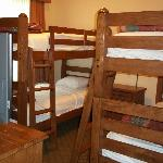  Attached bunk bed room