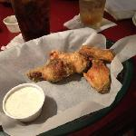  dry ranch wings! Thursday is wing day!