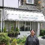 Front of St. John's Lodge, Windermere