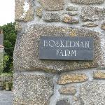 Name at farm entrance