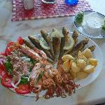  Fabulous Fresh Fish Platter at Mamma Mia June 2012