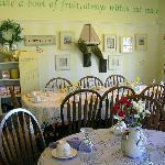 Photo of Annabelle's Tea Room where breakfast is served