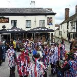 The Star Inn - in the middle of the folk festival festivities