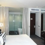 Deluxe room with balcony which is very small