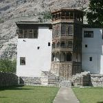  Front facade of Khaplu Palace