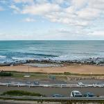 Looking over Merewether Beach